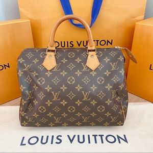 Brand New! Speedy 30! Louis Vuitton Authentic Bag!